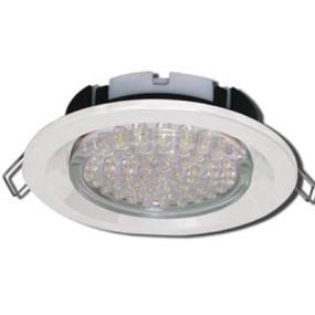 Светильник точечный Ecola GX53 H4 встраив. белый